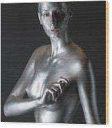 Chantal Wood Print
