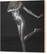 Chantal - Silver Lady - 2 Wood Print