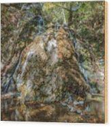 Chantara Waterfalls - Cyprus Wood Print