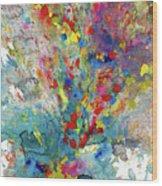 Chaotic Craziness Series 1987.032914 Wood Print