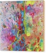 Chaotic Craziness Series 1988.033014 Wood Print