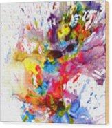 Chaotic Craziness Series 1998.033114 Wood Print