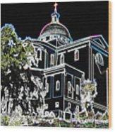 Chapel Aquinas Wood Print