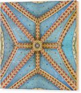 Chapel Ceiling Wood Print