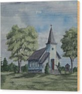 Chapel In Summer Wood Print