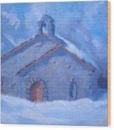 Chapel Of Assent Wood Print