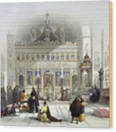 Chapel Of The Convent Of St Saba Wood Print