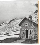 Chapelle Des Aravis Wood Print
