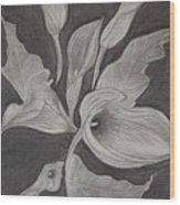 Charcoal Wood Print