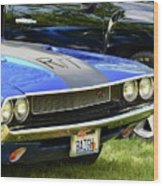 Challenger R/t Wood Print