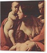 Charity 1607 Wood Print