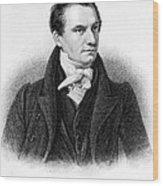 Charles Babbage, English Computer Wood Print