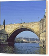 Charles Bridge, Prague Wood Print