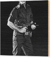 Charles Bronson In Raid On Entebbe 1977  Wood Print