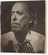 Charles Bukowski 1 Wood Print