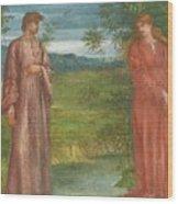 Charles Fairfax Murray Wood Print