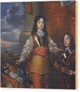 Charles II - King Of Scots And King Of England Wood Print