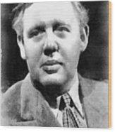Charles Laughton Vintage Actor Wood Print