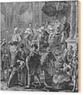 Charles X Wood Print