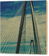 Charleston Bridge II Wood Print
