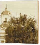 Charleston City Life Wood Print