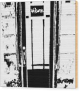 Charleston Door Wood Print