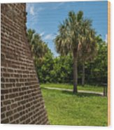 Charleston Fortification Wood Print