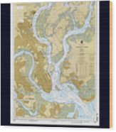 Charleston Harbor Wood Print
