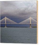Charleston Ravenel Bridge Wood Print