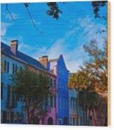 Charleston, Sc Wood Print