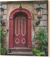 Charleston Sc Grand Entrance Wood Print