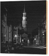 Charleston South Carolina 1980's Wood Print