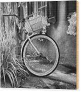 Charleston Street Bike Wood Print