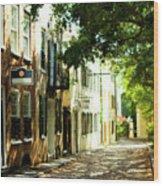 Charleston Streets 2 Wood Print