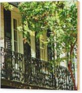 Charleston Style 2 Wood Print