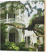 Charleston Style 7 Wood Print