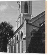 Charleston Unitarian Church Wood Print