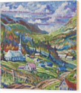 Charlevoix Inspiration Wood Print