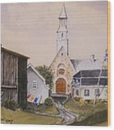 Charlevoix Quebec Wood Print