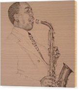 Charlie Parker Wood Print