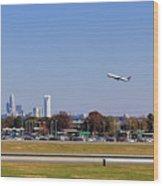 Charlotte Airport Wood Print