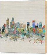 Charlotte City Wood Print
