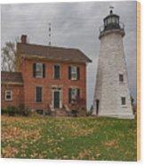 Charlotte-genesee Lighthouse Wood Print