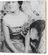 Charlotte Holloman (1922-) Wood Print by Granger
