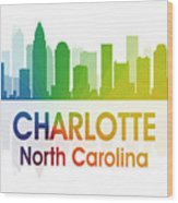 Charlotte Nc Wood Print by Angelina Vick