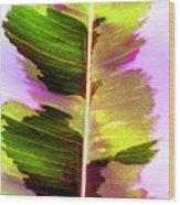 Chartreuse Wood Print