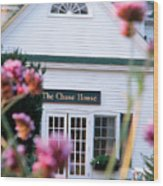 Chase House Wood Print