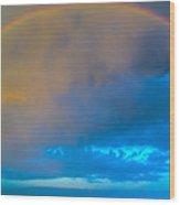 Chasing Nebraska Lightning 006 Wood Print