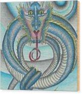 Chasing The Dragon Wood Print