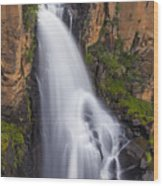 Chasing Waterfalls Wood Print